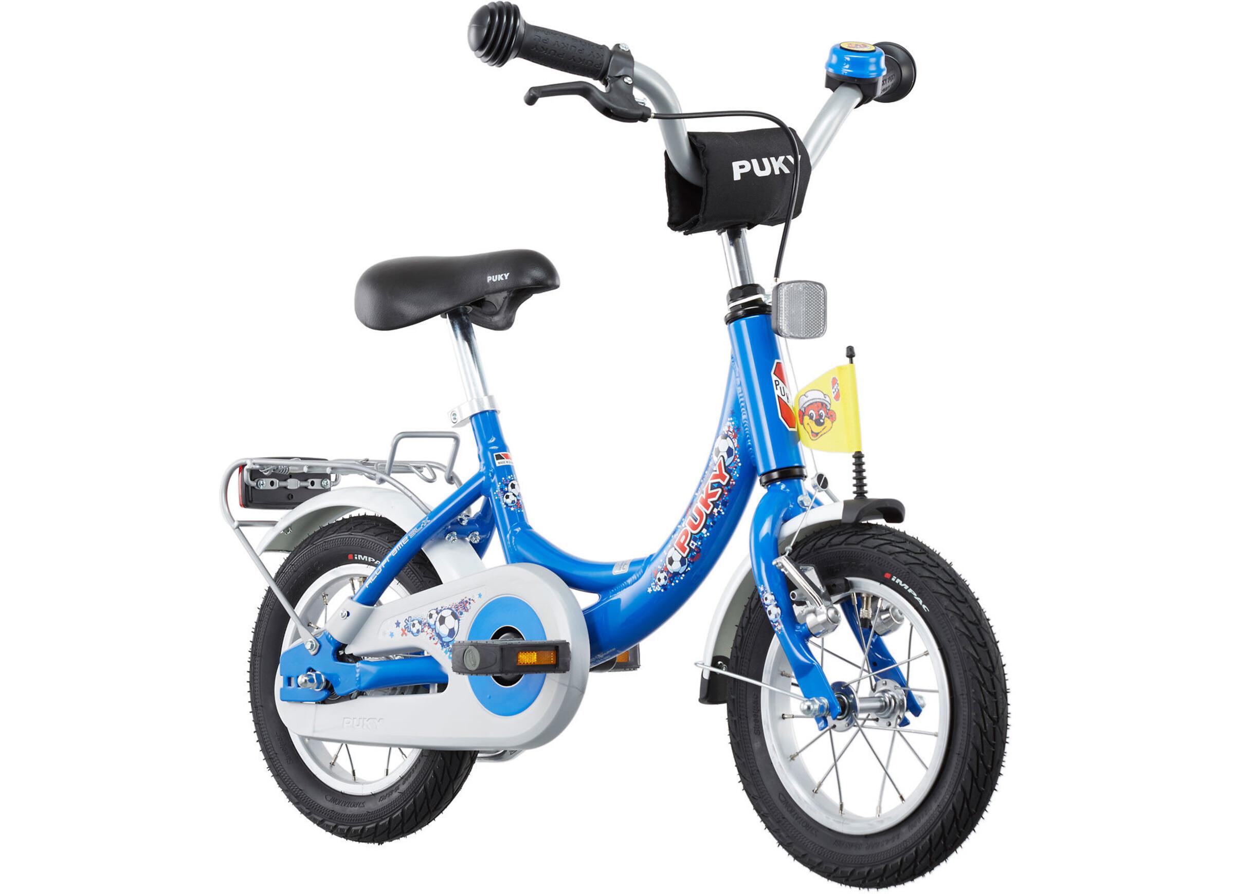 puky zl 12 1 alu fahrrad 12 kinder fussball blau online. Black Bedroom Furniture Sets. Home Design Ideas